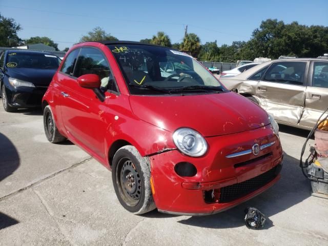 Salvage cars for sale from Copart Punta Gorda, FL: 2014 Fiat 500 POP