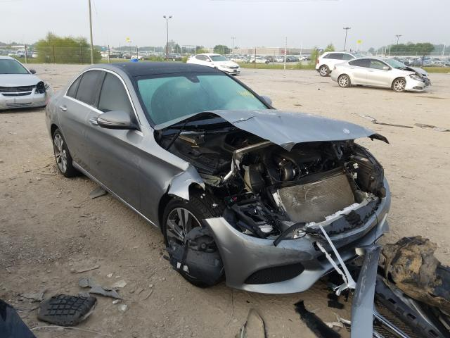 Salvage cars for sale from Copart Indianapolis, IN: 2016 Mercedes-Benz C300