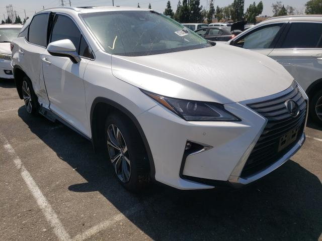 Salvage cars for sale from Copart Rancho Cucamonga, CA: 2017 Lexus RX 350 Base