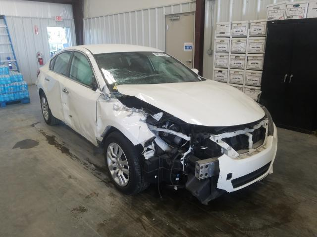 Salvage cars for sale from Copart Spartanburg, SC: 2016 Nissan Altima 2.5