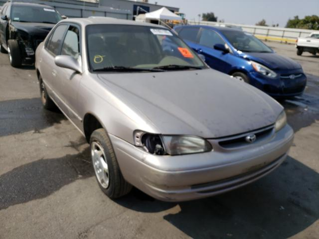 Salvage cars for sale from Copart Bakersfield, CA: 1999 Toyota Corolla VE