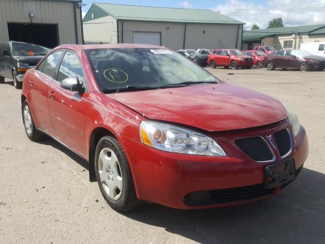 Pontiac G6 Value L salvage cars for sale: 2007 Pontiac G6 Value L