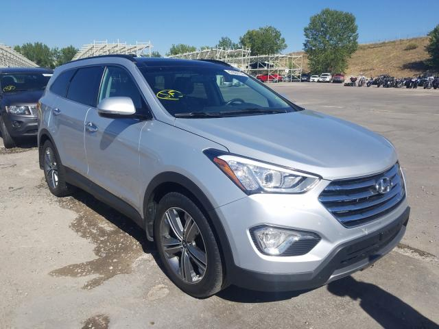 Hyundai salvage cars for sale: 2015 Hyundai Santa FE G