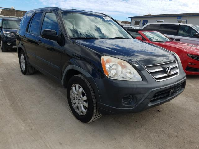 Honda CR-V salvage cars for sale: 2006 Honda CR-V