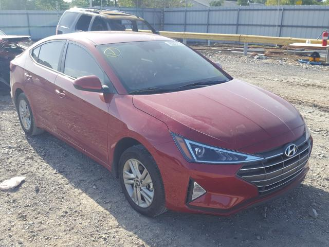 Hyundai Elantra salvage cars for sale: 2020 Hyundai Elantra