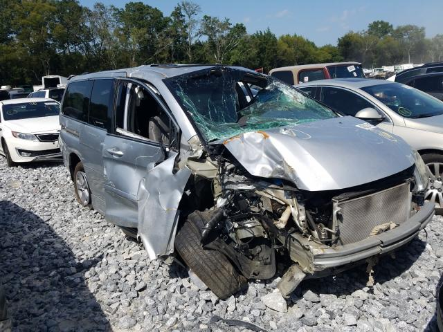 Salvage cars for sale from Copart Cartersville, GA: 2010 Honda Odyssey TO