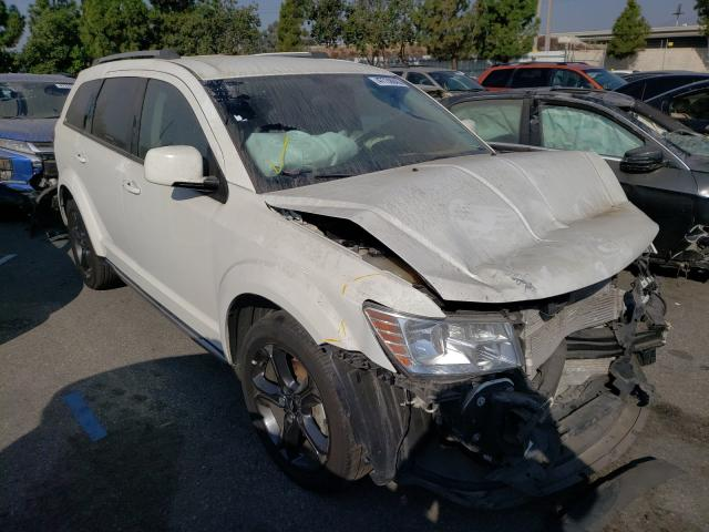 Salvage cars for sale from Copart Rancho Cucamonga, CA: 2018 Dodge Journey CR