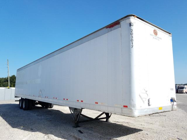 Great Dane salvage cars for sale: 2000 Great Dane 53 Trailer