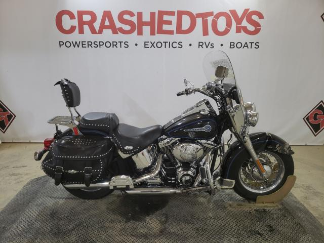 Salvage cars for sale from Copart Columbia, MO: 2006 Harley-Davidson Flstci