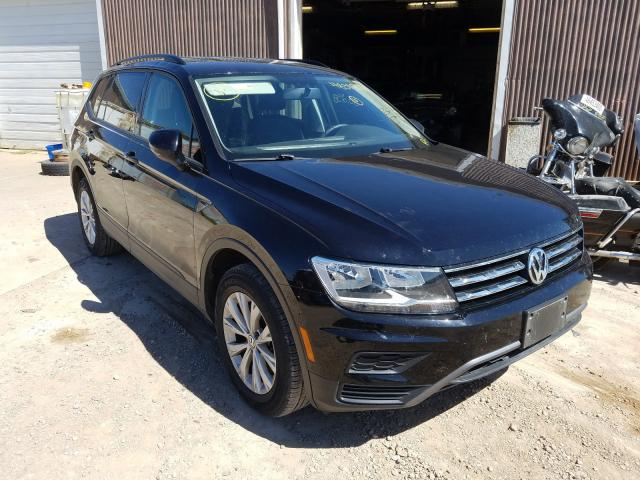Volkswagen salvage cars for sale: 2018 Volkswagen Tiguan S
