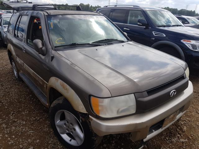 Salvage cars for sale from Copart Memphis, TN: 2001 Infiniti QX4
