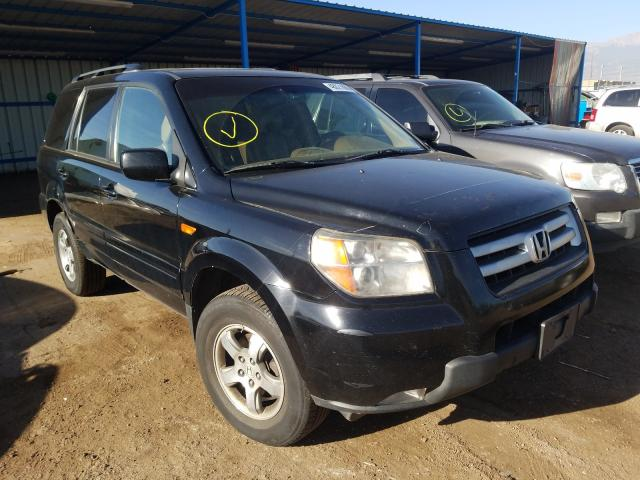 Salvage cars for sale from Copart Colorado Springs, CO: 2007 Honda Pilot EXL