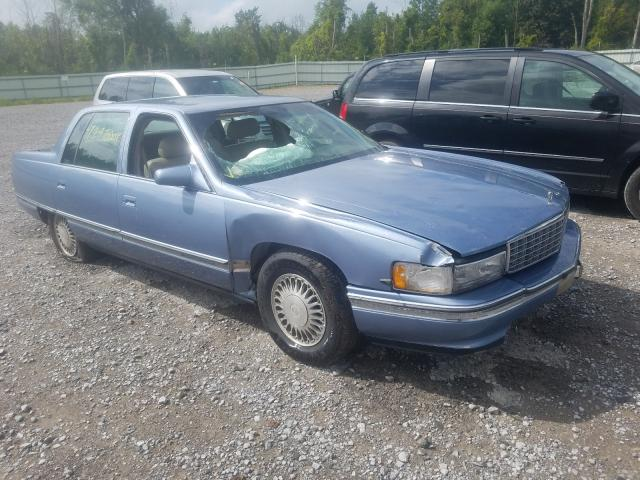 Salvage cars for sale from Copart Leroy, NY: 1994 Cadillac Deville
