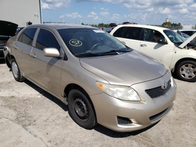 Salvage cars for sale from Copart Apopka, FL: 2009 Toyota Corolla BA