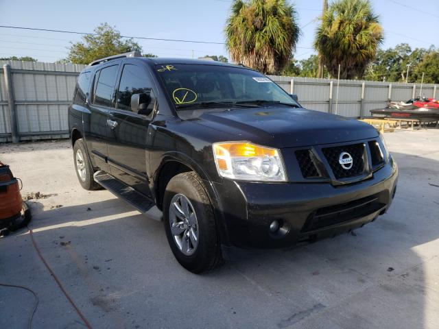 Salvage cars for sale from Copart Punta Gorda, FL: 2015 Nissan Armada SV