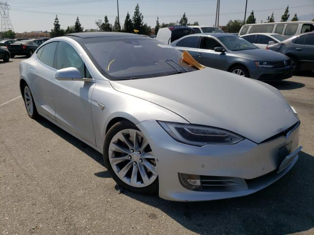Salvage cars for sale from Copart Rancho Cucamonga, CA: 2016 Tesla Model S