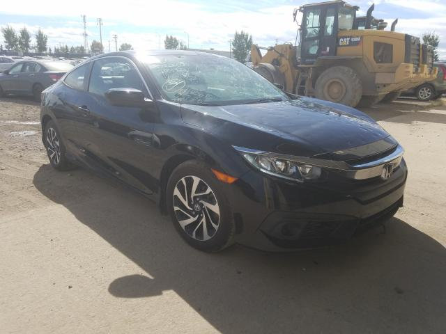 Salvage cars for sale from Copart Rocky View County, AB: 2017 Honda Civic LX