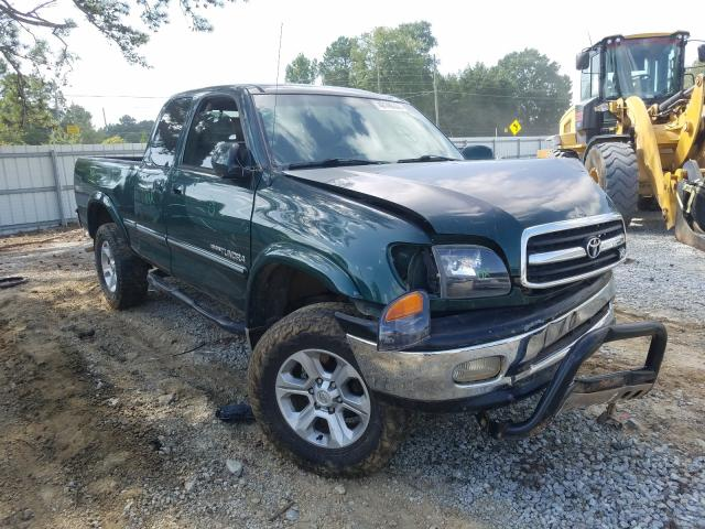 Salvage cars for sale from Copart Loganville, GA: 2002 Toyota Tundra ACC