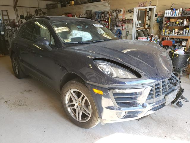 Salvage cars for sale from Copart Billings, MT: 2018 Porsche Macan