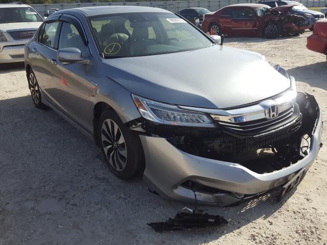 Salvage cars for sale from Copart Newton, AL: 2017 Honda Accord TOU