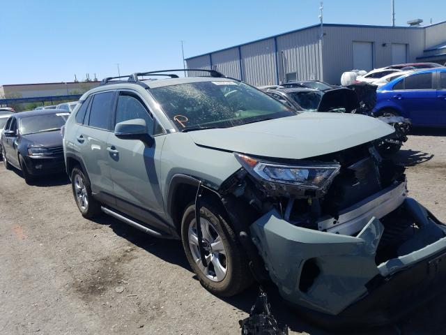 Salvage cars for sale from Copart Las Vegas, NV: 2020 Toyota Rav4 XLE