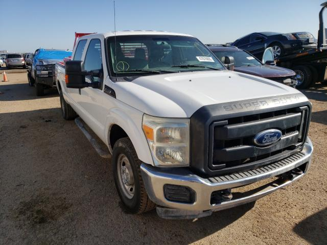 Salvage cars for sale from Copart Amarillo, TX: 2012 Ford F250 Super