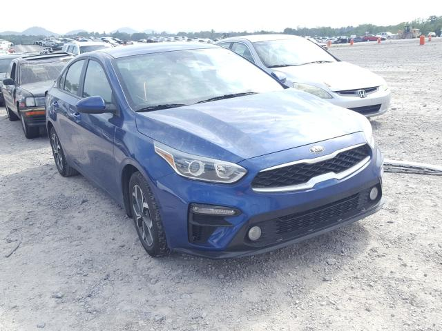 Salvage cars for sale from Copart Madisonville, TN: 2019 KIA Forte FE