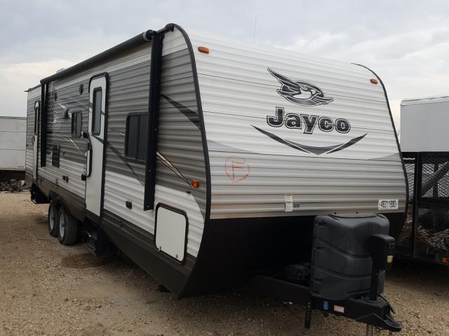 Salvage cars for sale from Copart San Antonio, TX: 2015 Jayco Trailer