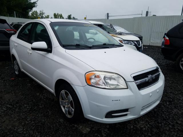 Salvage cars for sale from Copart New Britain, CT: 2010 Chevrolet Aveo LS
