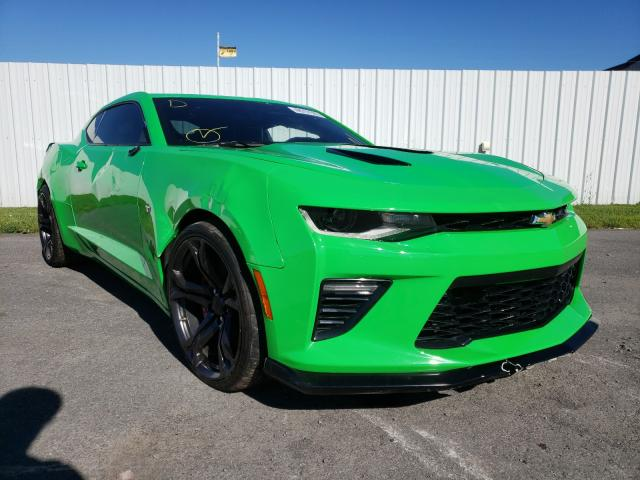 Salvage cars for sale from Copart Central Square, NY: 2017 Chevrolet Camaro SS