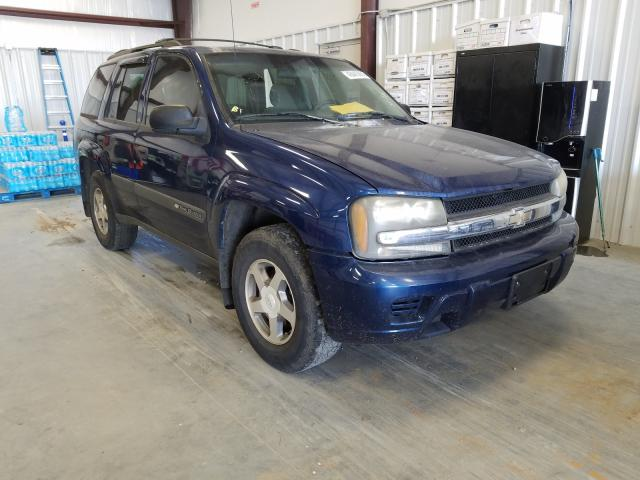 Salvage cars for sale from Copart Spartanburg, SC: 2004 Chevrolet Trailblazer