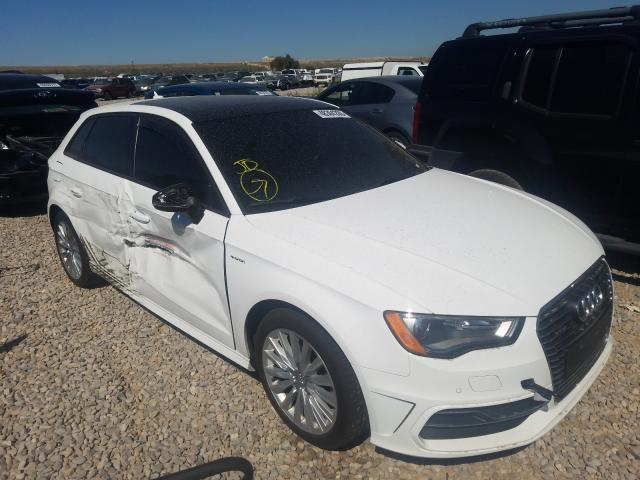 Audi salvage cars for sale: 2016 Audi A3 E-Tron