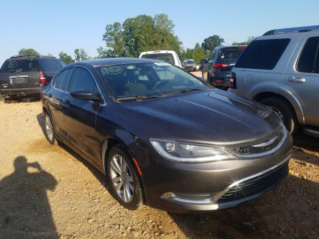 2015 Chrysler 200 Limited en venta en China Grove, NC
