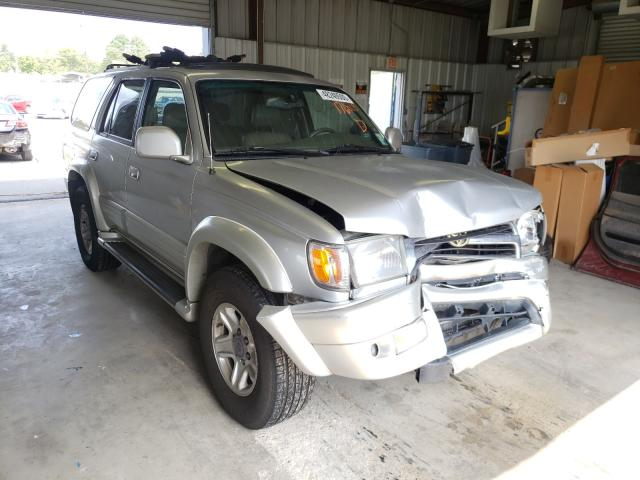 Toyota 4runner LI salvage cars for sale: 2000 Toyota 4runner LI