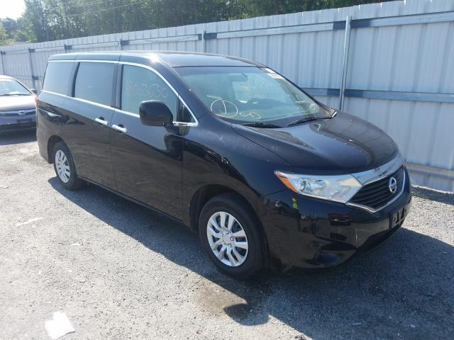 Salvage cars for sale from Copart Fredericksburg, VA: 2012 Nissan Quest S