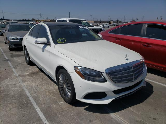 Mercedes-Benz salvage cars for sale: 2015 Mercedes-Benz C300