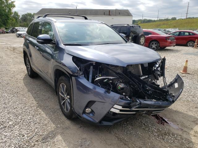 Salvage cars for sale from Copart Northfield, OH: 2019 Toyota Highlander