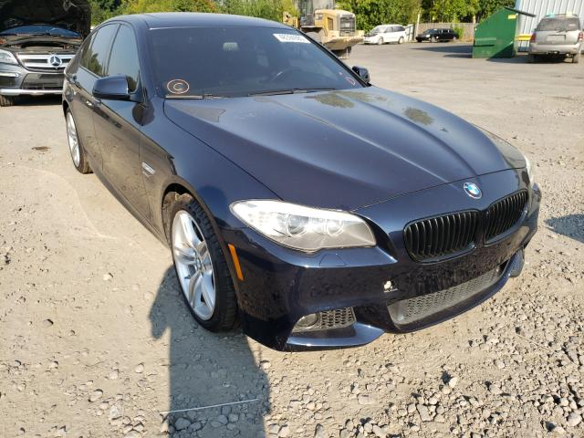 BMW salvage cars for sale: 2012 BMW 550 XI