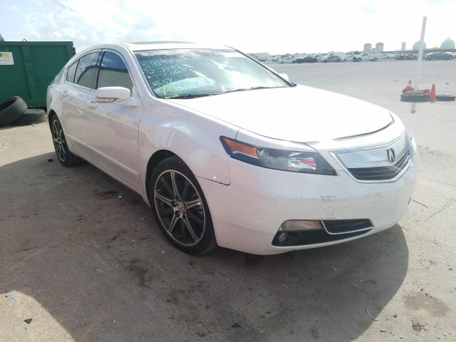 Acura salvage cars for sale: 2014 Acura TL Tech