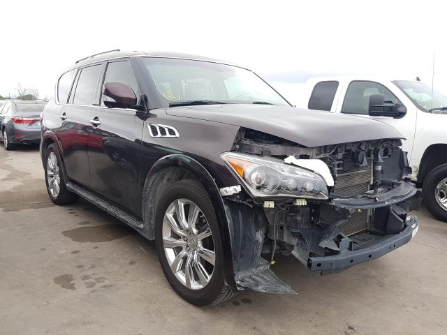 Infiniti QX56 salvage cars for sale: 2012 Infiniti QX56