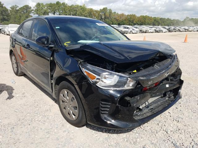 KIA Rio LX salvage cars for sale: 2020 KIA Rio LX