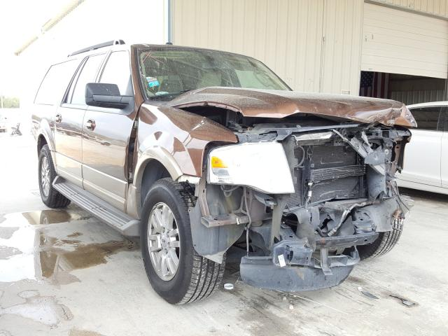 Salvage cars for sale from Copart San Antonio, TX: 2011 Ford Expedition