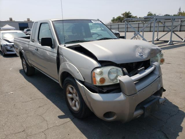 Salvage cars for sale from Copart Bakersfield, CA: 2003 Nissan Frontier K
