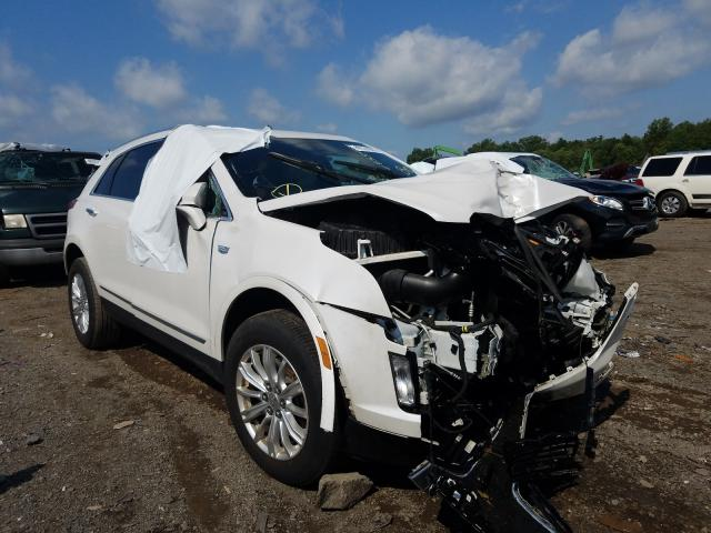 Cadillac XT5 salvage cars for sale: 2019 Cadillac XT5