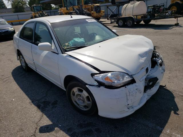 Salvage cars for sale from Copart Van Nuys, CA: 2005 Honda Civic