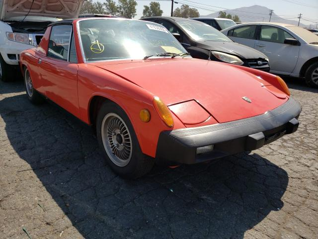 Porsche salvage cars for sale: 1975 Porsche 914