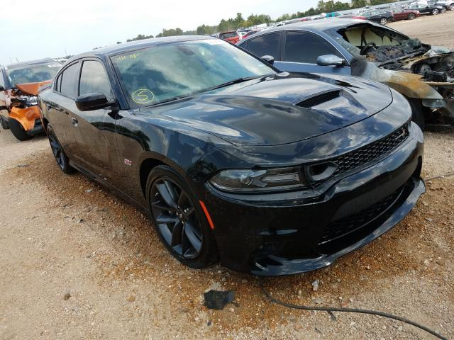 Salvage cars for sale from Copart Bridgeton, MO: 2019 Dodge Charger SC