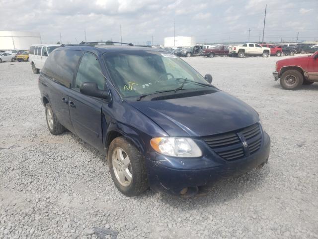Salvage cars for sale at Tulsa, OK auction: 2005 Dodge Grand Caravan
