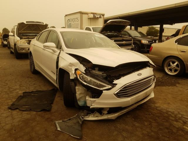 Salvage 2018 FORD FUSION - Small image. Lot 48605700