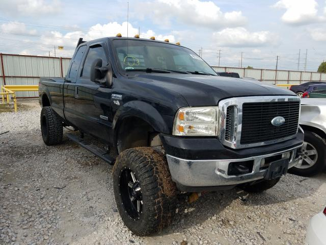Salvage cars for sale from Copart Haslet, TX: 2006 Ford F250 Super